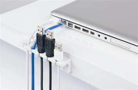 desk with cable management simple cord management solutions that can make easier