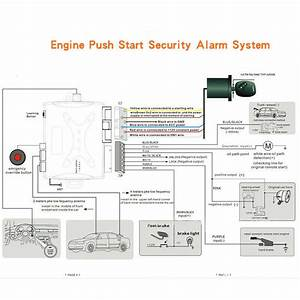Car Engine Start Stop Button Remote Smart Key Pke Passive