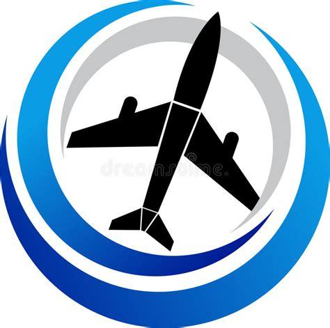 Plane Logo Stock Vector. Illustration Of Engine, Fighter