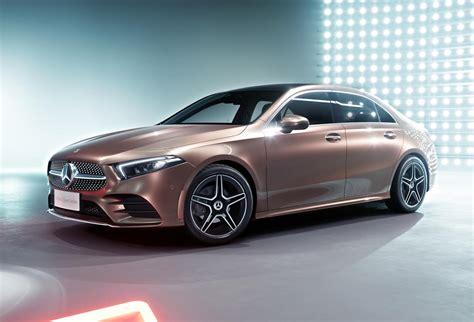 2019 Mercedes-benz A-class Sedan Leaks Online