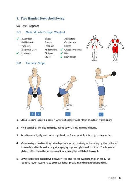 kettlebell swing workout kettlebell swings muscles targeted ukbg kettlebell