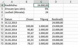 Zinsen Pro Monat Berechnen : summenprodukt theorie und praxis teil 2 der tabellen experte ~ Watch28wear.com Haus und Dekorationen
