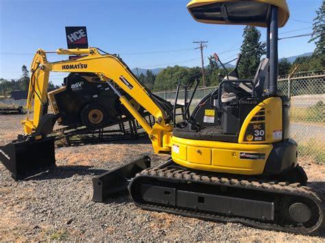 komatsu pc mini excavator harbour city equipment