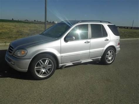 With origins in the first ever car produced by karl benz, mercedes' history is nothing short of amazing. 2005 Mercedes-Benz ML500 SUV Base for Sale in Ransom Canyon, Texas Classified   AmericanListed.com
