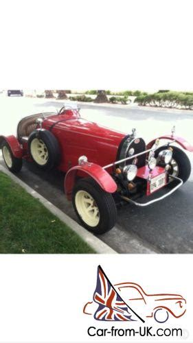 Sounds like a vw and looks like a bugatti, one could not. 1927 Replica/Kit Makes Bugatti