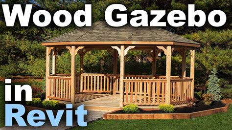 Gazebo Tutorial Wooden Gazebo In Revit Tutorial