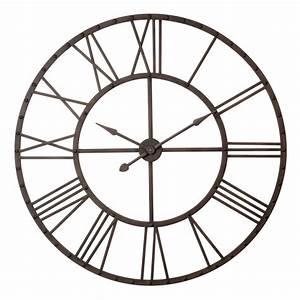 Horloge Murale Maison Du Monde : horloge indus maisons du monde ~ Teatrodelosmanantiales.com Idées de Décoration
