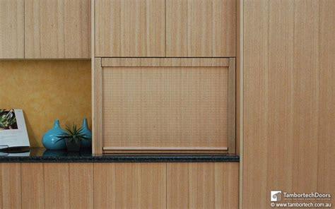 tambour kitchen cabinet doors timber veneer kitchen tambour doors tambortech copper 6001