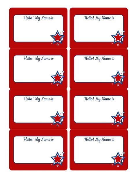 Name Tag Template 47 Free Name Tag Badge Templates Template Lab