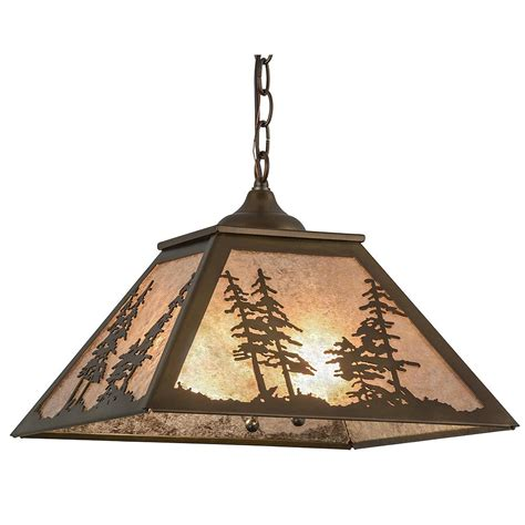 rustic lighting wolf flush mount ceiling light cabin place
