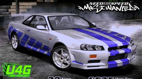 nissan skyline 2005 1999 nissan skyline gtr 34 need for speed most wanted 2005