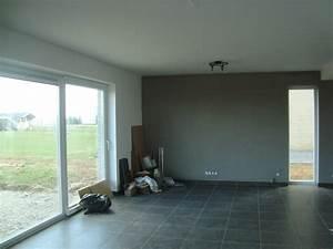 de la couleur la maison de lilie et greg With ordinary peinture couleur gris taupe 12 cuisine rouge mur couleur lin et apras