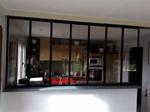 Verriere Interieure Metallique : verri re style atelier pour int rieur maison nord lille ~ Premium-room.com Idées de Décoration