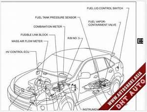 Lexus Rx400h 2007 Wiring Diagram
