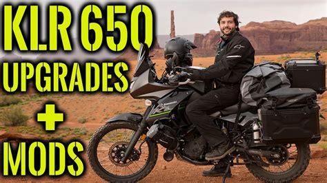 Modification Kawasaki 650 by Kawasaki Klr 650 Upgrades And Mods Part 1