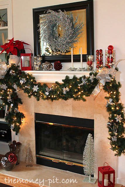 10 best ideas about christmas fireplace decorations on pinterest christmas fireplace