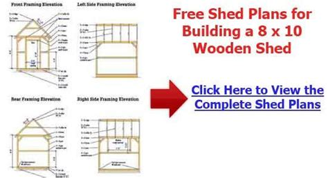 10x14 shed plans pdf build how to build a 10 215 14 wood shed diy wood projects to