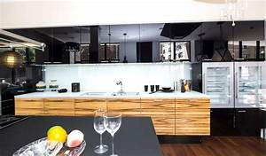 Remodeling, Contractormodern, Black, Kitchen, Designs