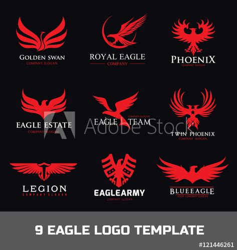 > after payment confirmation, you will get the files on your mail or purchase history. Eagle Logo set,Animal logo collection,bird logo,Phoenix ...