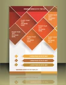 flyer designer cover flyer creative design vector 01 vector cover free