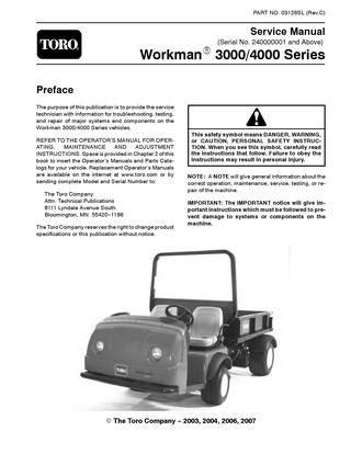 03126sl.pdf Workman 3000/4000 Series (S/N 240000001 & Up