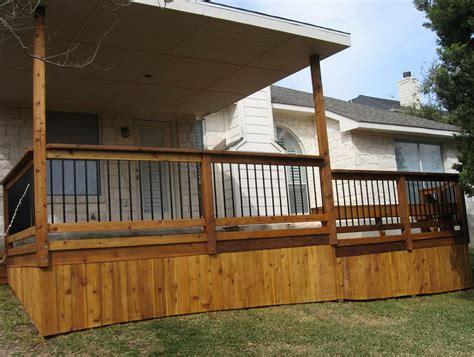 Unique Deck Skirting Ideas by Deck Skirting Ideas Home Design Ideas