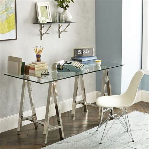15 Home Offices Featuring Trestle Tables As Desks