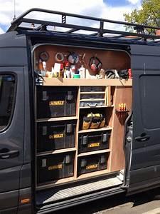 Van Racking Tool Storage Work In Progress Garage Workshop