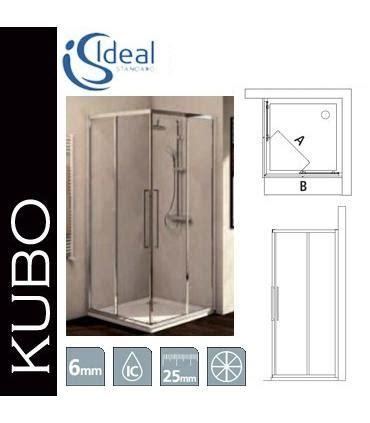 box doccia kubo lato fisso per box doccia ideal standard serie kubo