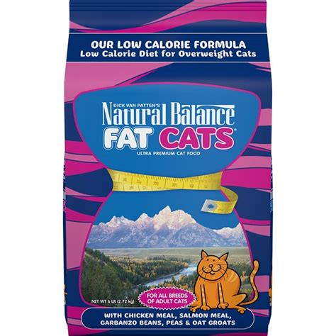 natural balance fat cats  chicken meal salmon meal