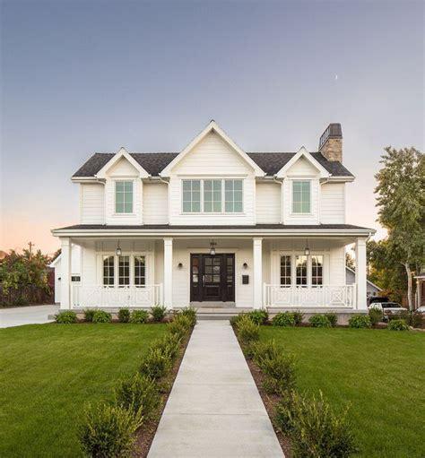 ideas  white farmhouse exterior  pinterest modern farmhouse exterior