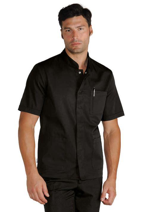 veste de cuisine pas cher noir médical de mylookpro com vêtements professionnels