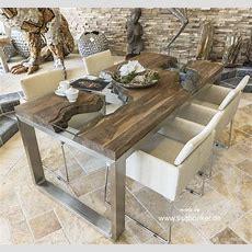 Designer Esstisch Aus Altholz  Der Tischonkel
