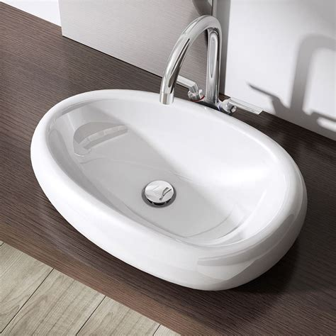 Top Mounted Bathroom Sinks by Durovin Bathroom Basin Sink Wall Mounted Hung Counter Top