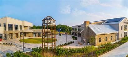 Commons Clarksville Center Shops Sustainable Environmentally Restaurants