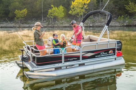 Tracker Boats Pontoon by Sun Tracker Boats Fishing Pontoons 2018 Bass Buggy 16