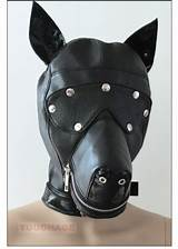 Canine roleplay fetish gear