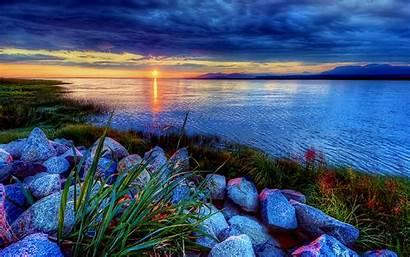 Mountain Lake Wallpapers Sunrise Nature Paisajes Pantalla