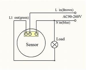 How To Wire Pir Sensor Diagrams