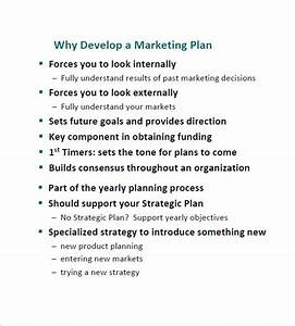 simple marketing plan template 12 free sample example With developing a marketing plan template