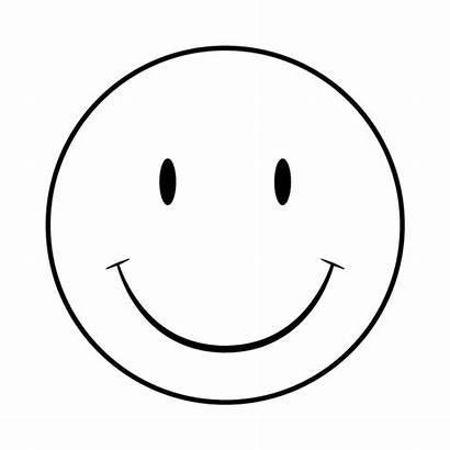 Smiley Face Faces Happy Clipart Printable Clip