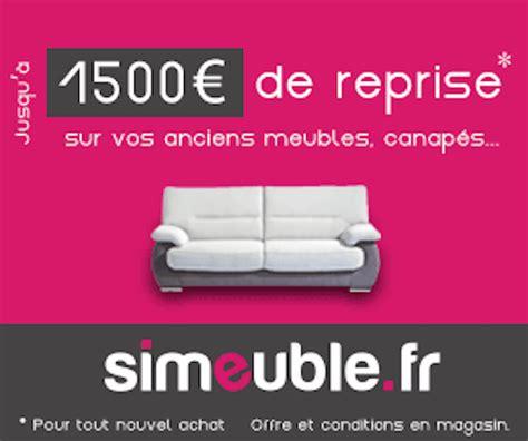 reprise ancien canapé but reprise de votre ancien meuble jusqu à 1500 le