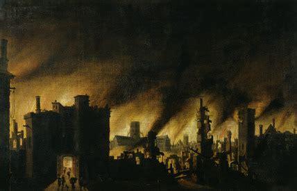 great fire  london   jan griffier  elder