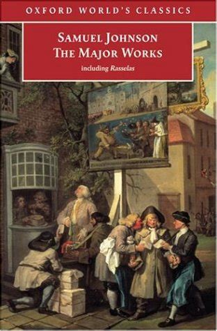 the major works the major works by samuel johnson reviews discussion