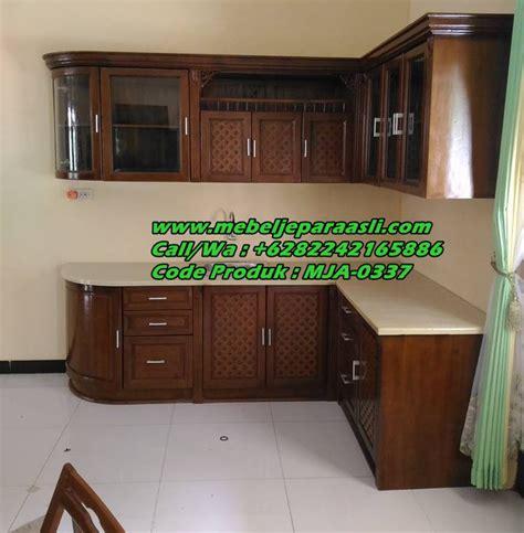 jual kitchen set kayu jati jual kitchen set minimalis