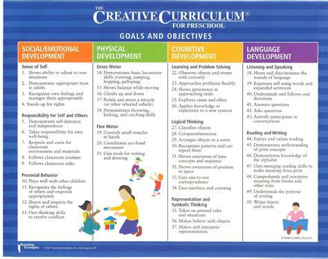 preschool curriculum creative curriculum lesson plans