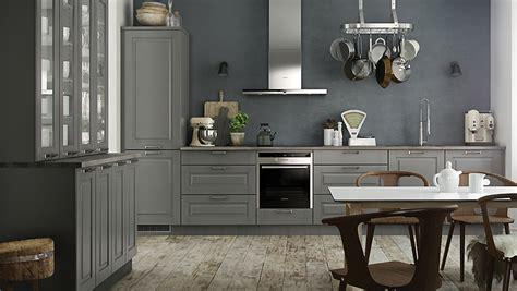 cuisines grises quelles couleurs pour les murs d 39 une cuisine aux meubles