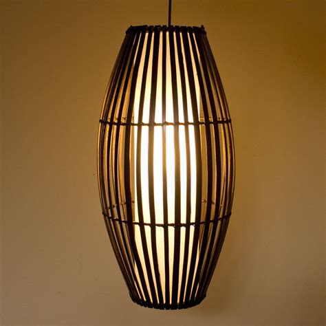bamboo hanging pendant lamps hand  factory export