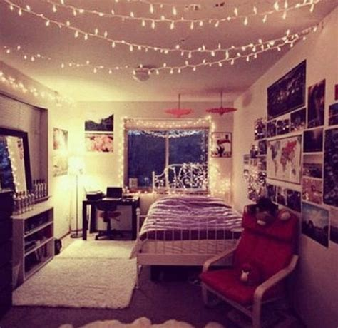 lights pictures typical hipster bedroom  love