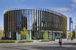 Chicago Public Library, Chinatown Branch   Architect ...
